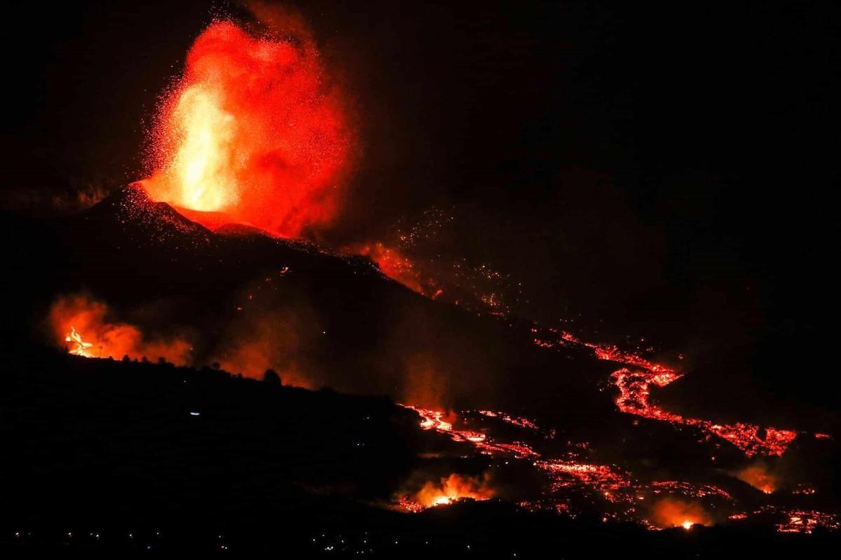 Volcà Cumbre Vieja de La Palma en erupció