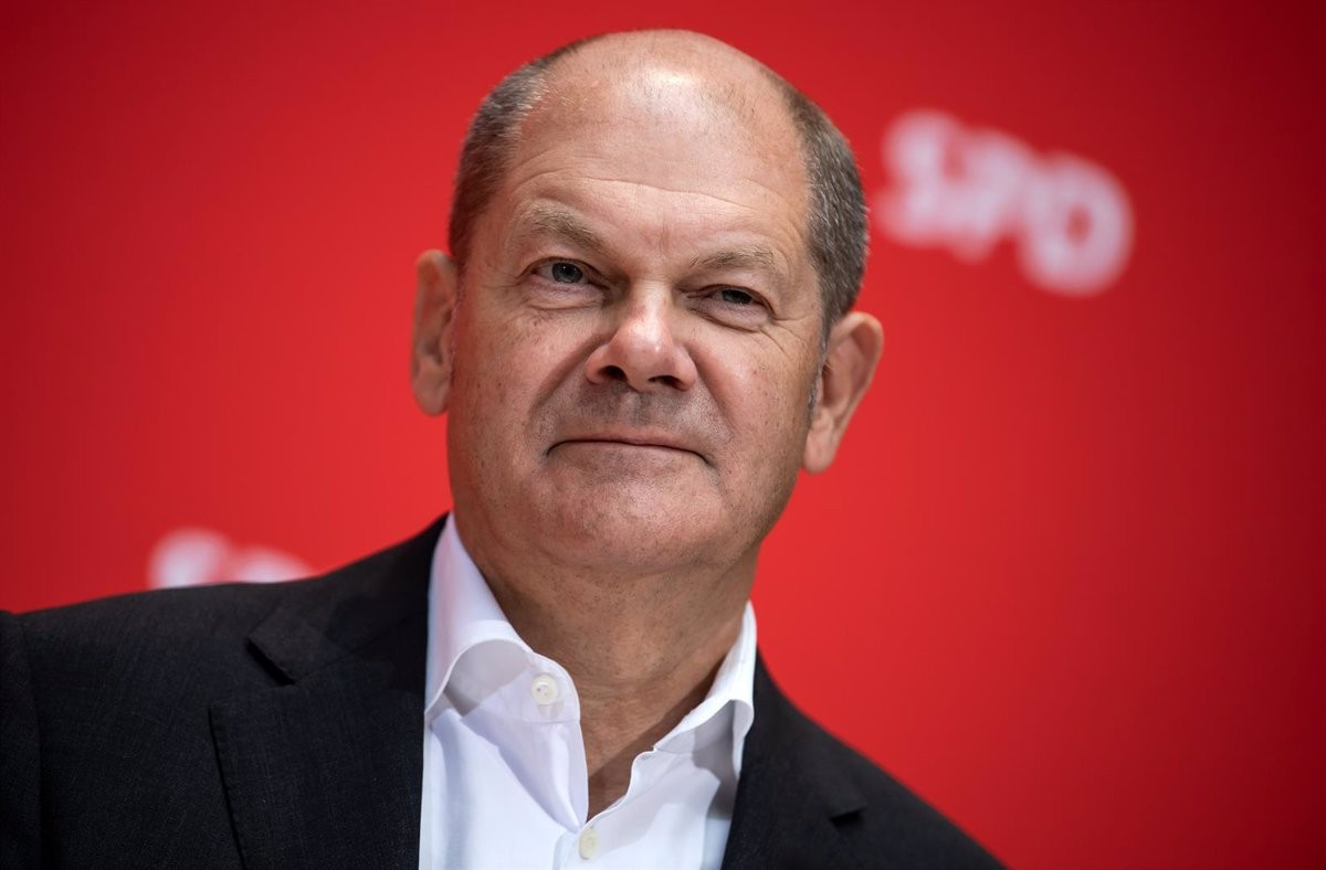 Olaf Scholz, guanyador de les eleccions alemanyes d'aquest diumenge.