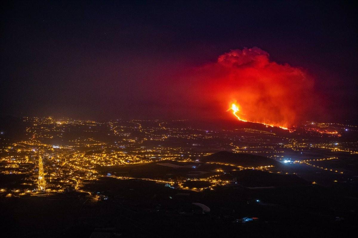 El volcà Cumbre Vieja, a la Palma