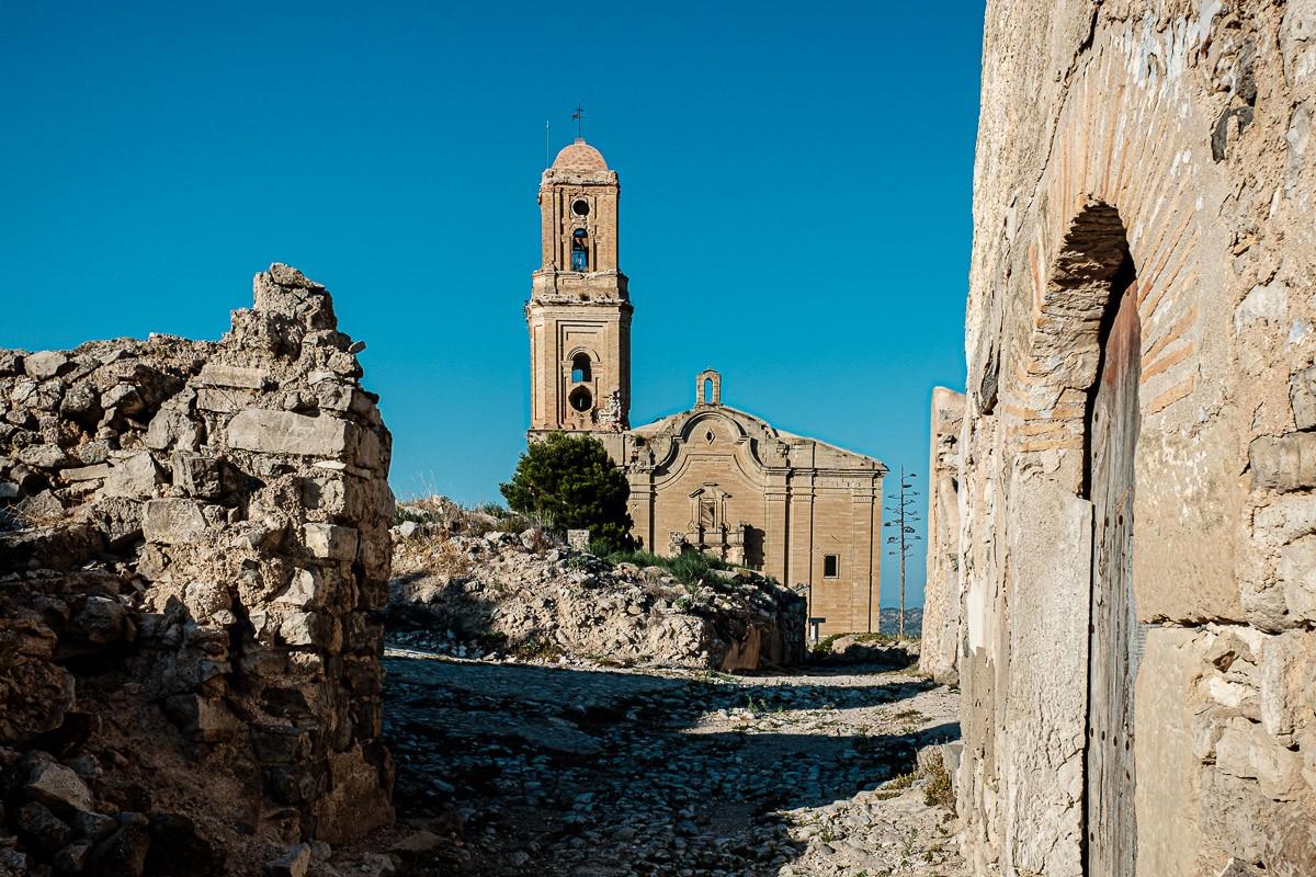 El poble vell de Corbera d'Ebre