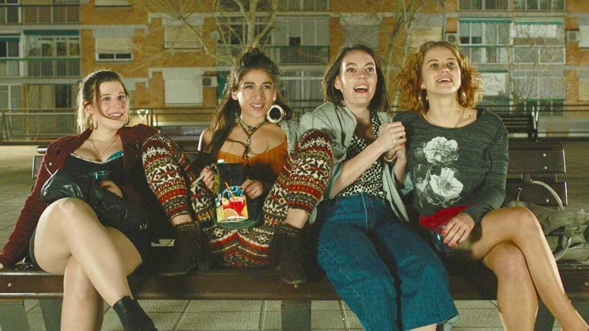 Les quatre protagonistes de «Chavalas»