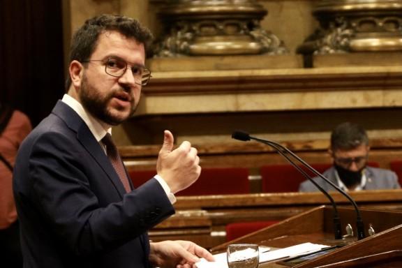 Aragonès fia la presidència als progressos de la taula de negociació