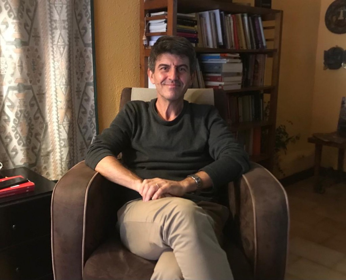 Jaume Descarrega, organitzador del Festival Psicurt