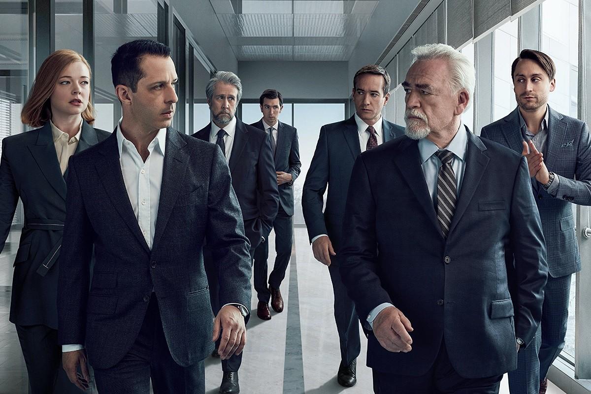 Els protagonistes de la tercera temporada de «Succession»