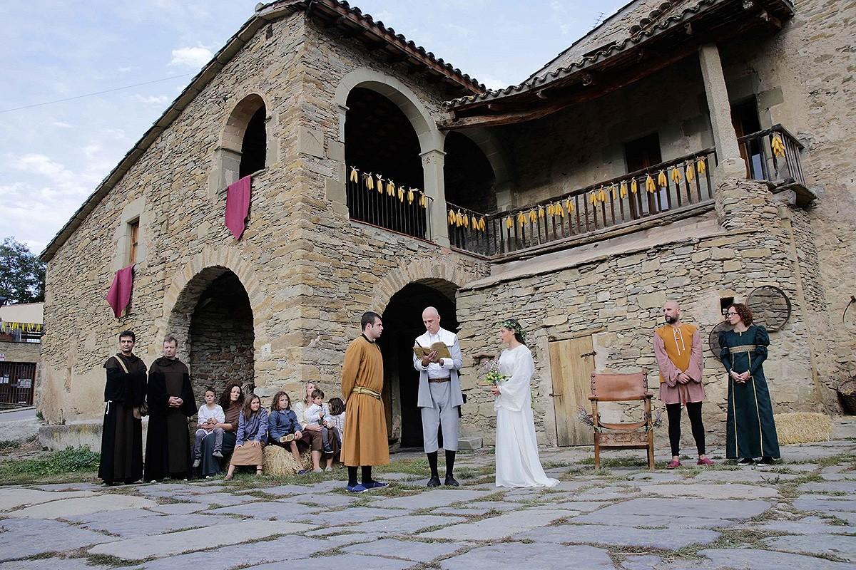 «La Presa del Castell de Savassona» és la cirereta de la Festa Remença