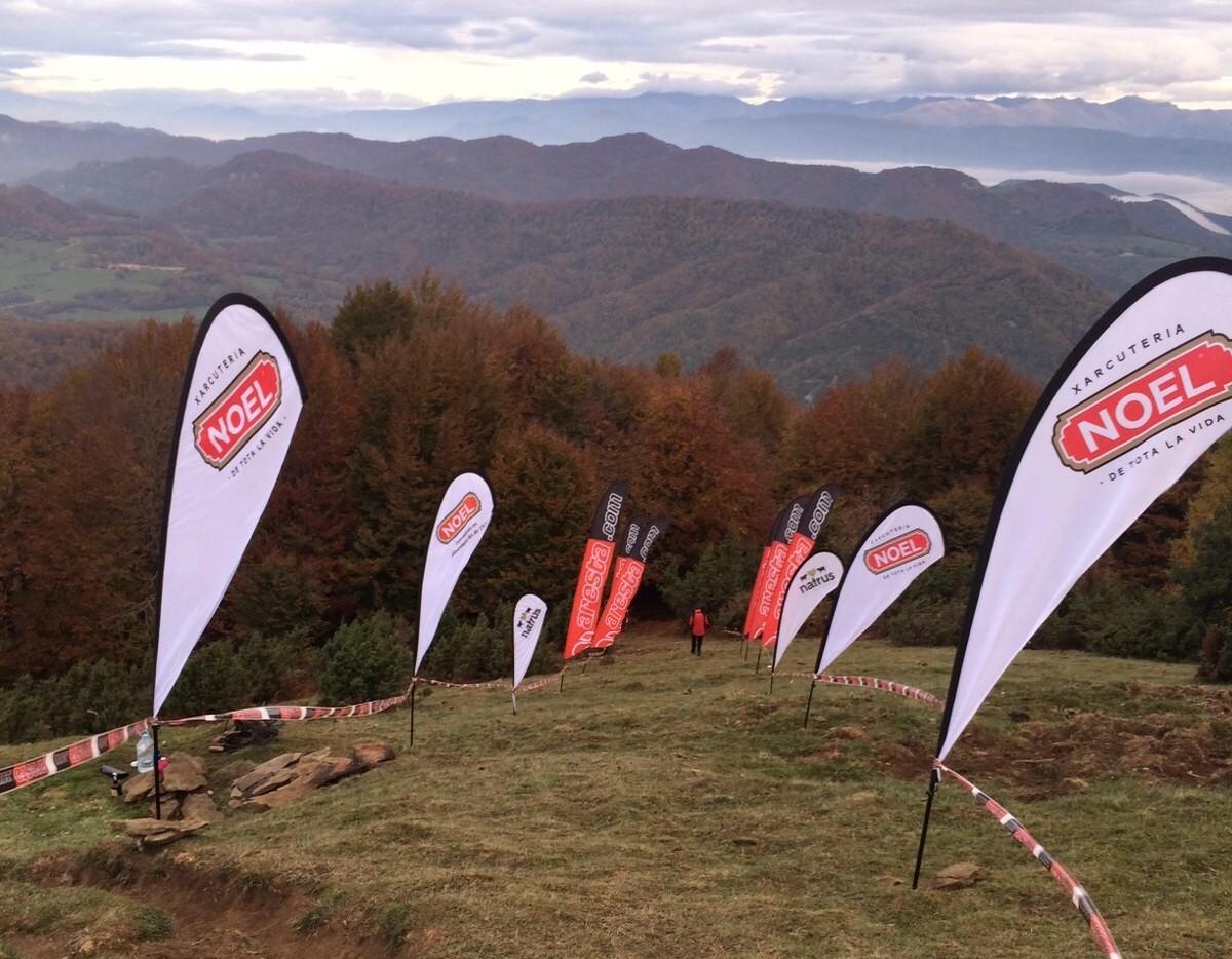 Tot a punt per a la VertiKalKM al Puigsacalm aquest diumenge 17 d'octubre.