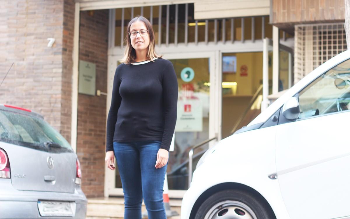 Laura Ferré, portaveu del sindicat USTEC a Tarragona.