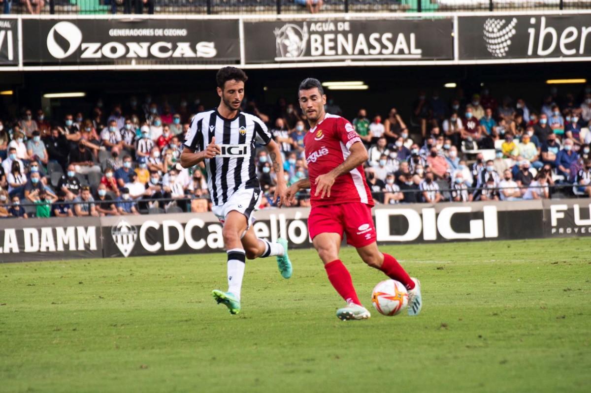 El Nàstic ha jugat aquest dissabte a la tarda a l'estadi de Castàlia, a Castelló.