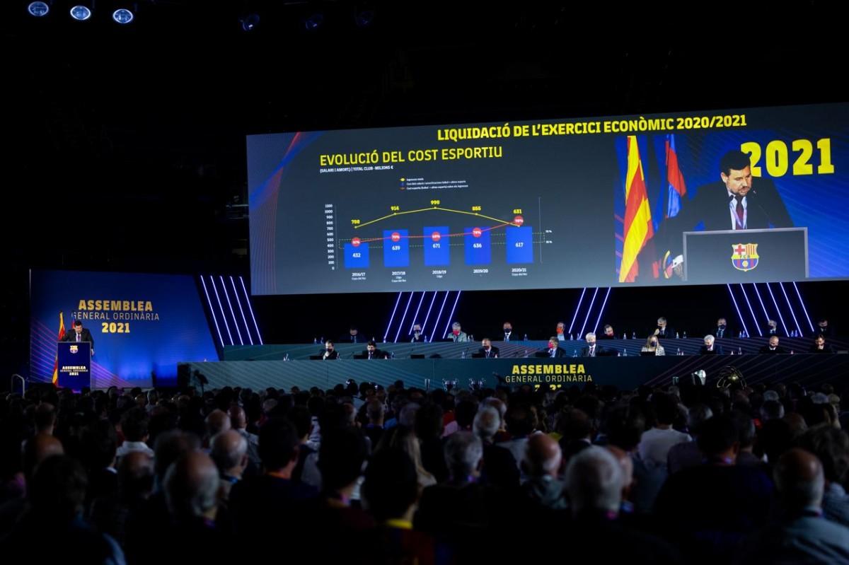 Assemblea general ordinària del FCB