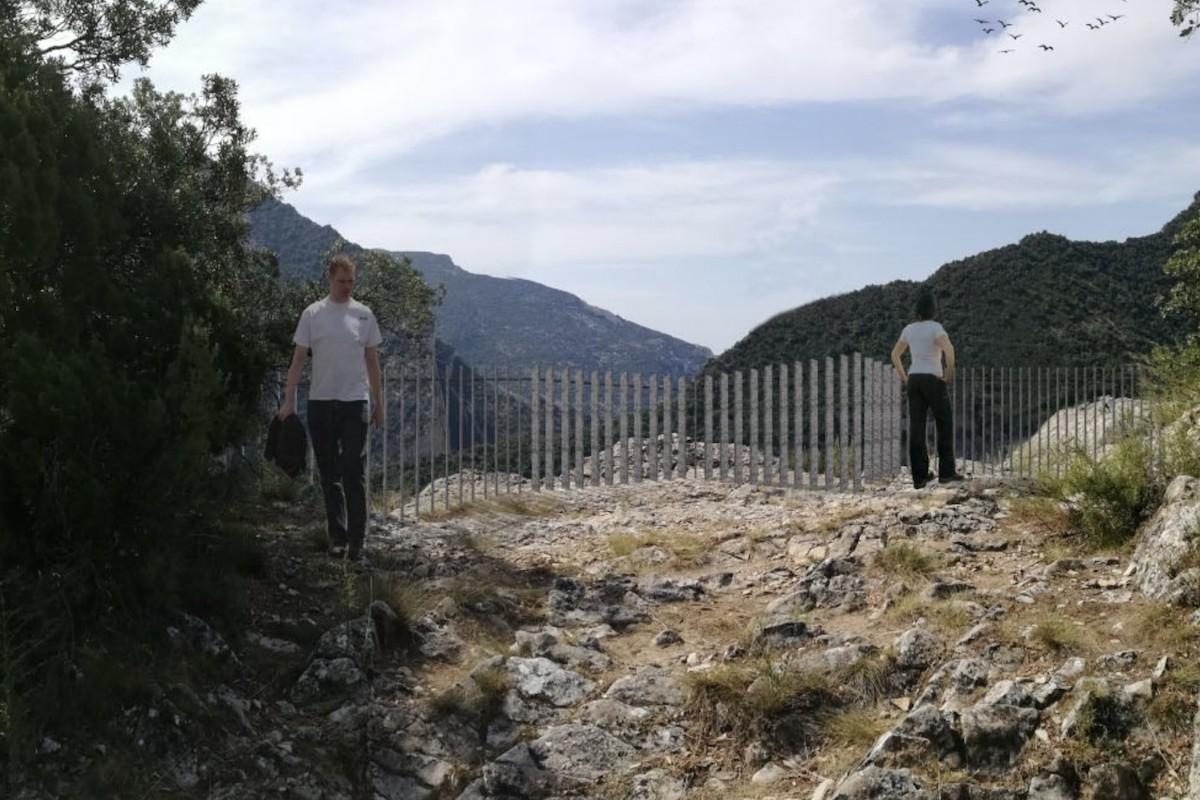 Imatge d'un dels miradors projectats a Roca Regina