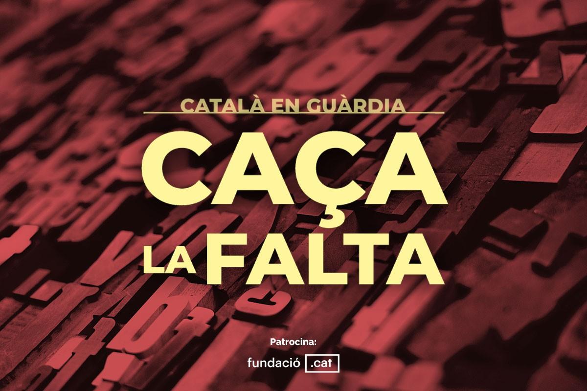 «Caça la falta»: el joc per posar a prova el nivell de català