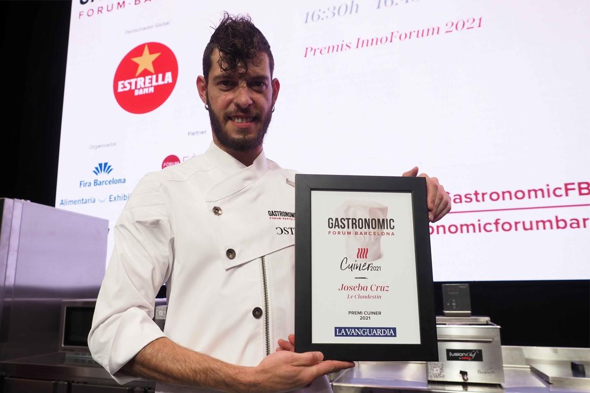 Joseba Cruz, Guanyador del Premi Cuiner 2021