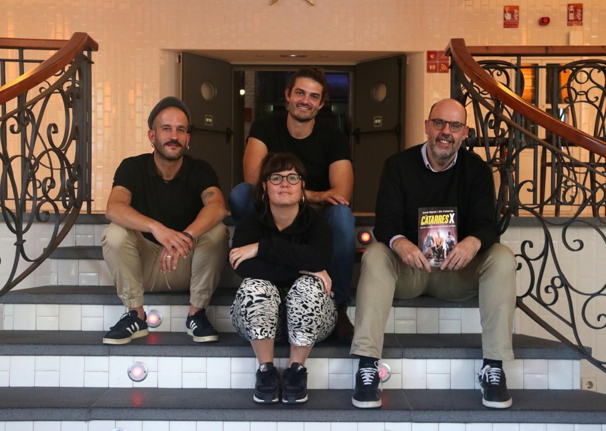 Els Catarres, amb Jordi Basté.