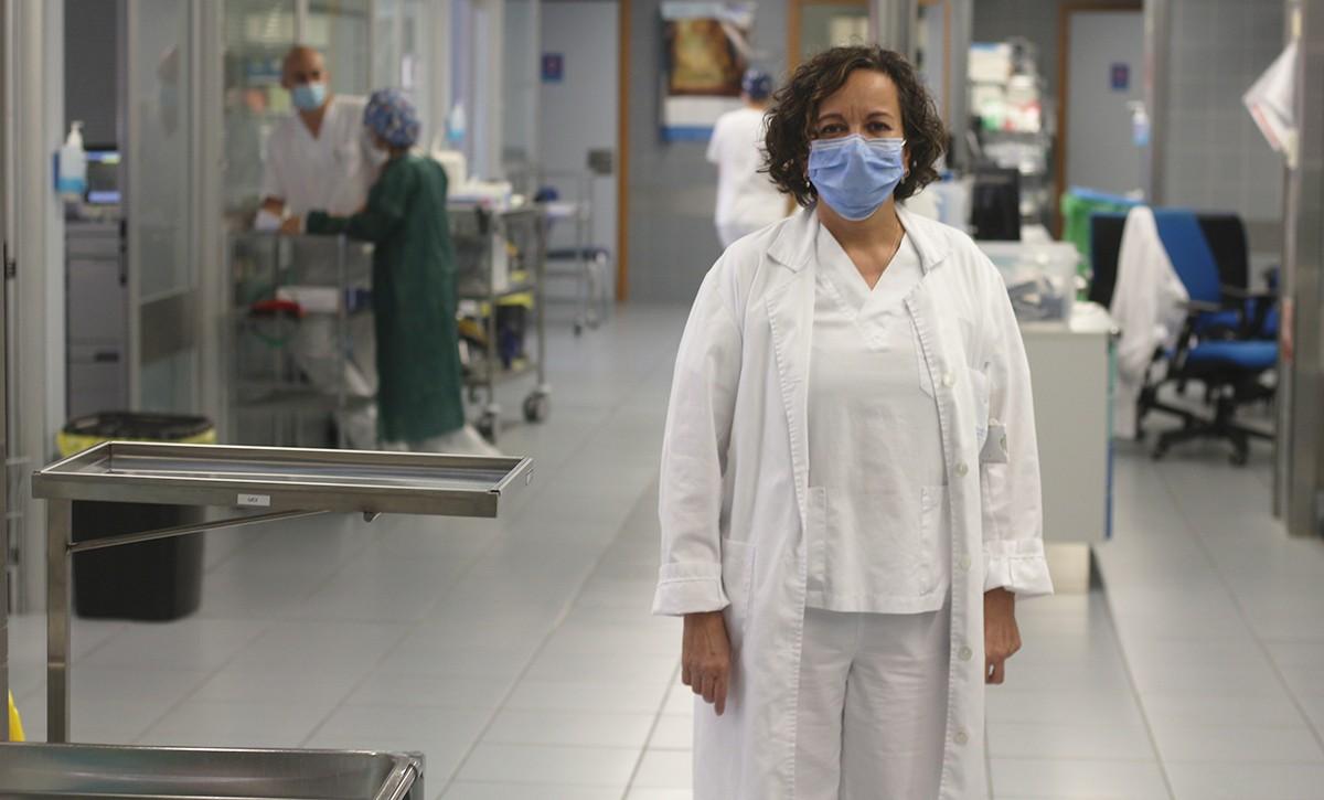 La doctora Nanda Bodí, cap mèdic de l'UCI de l'Hospital Santa Tecla de Tarragona.