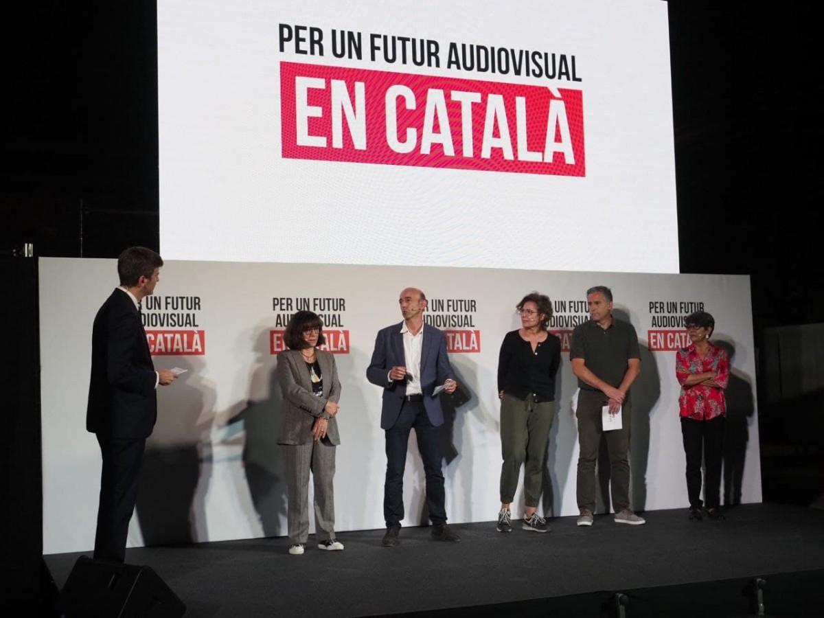 El sector de l'audiovisual reclama al govern espanyol que protegeixi el català amb la nova llei de l'audiovisual