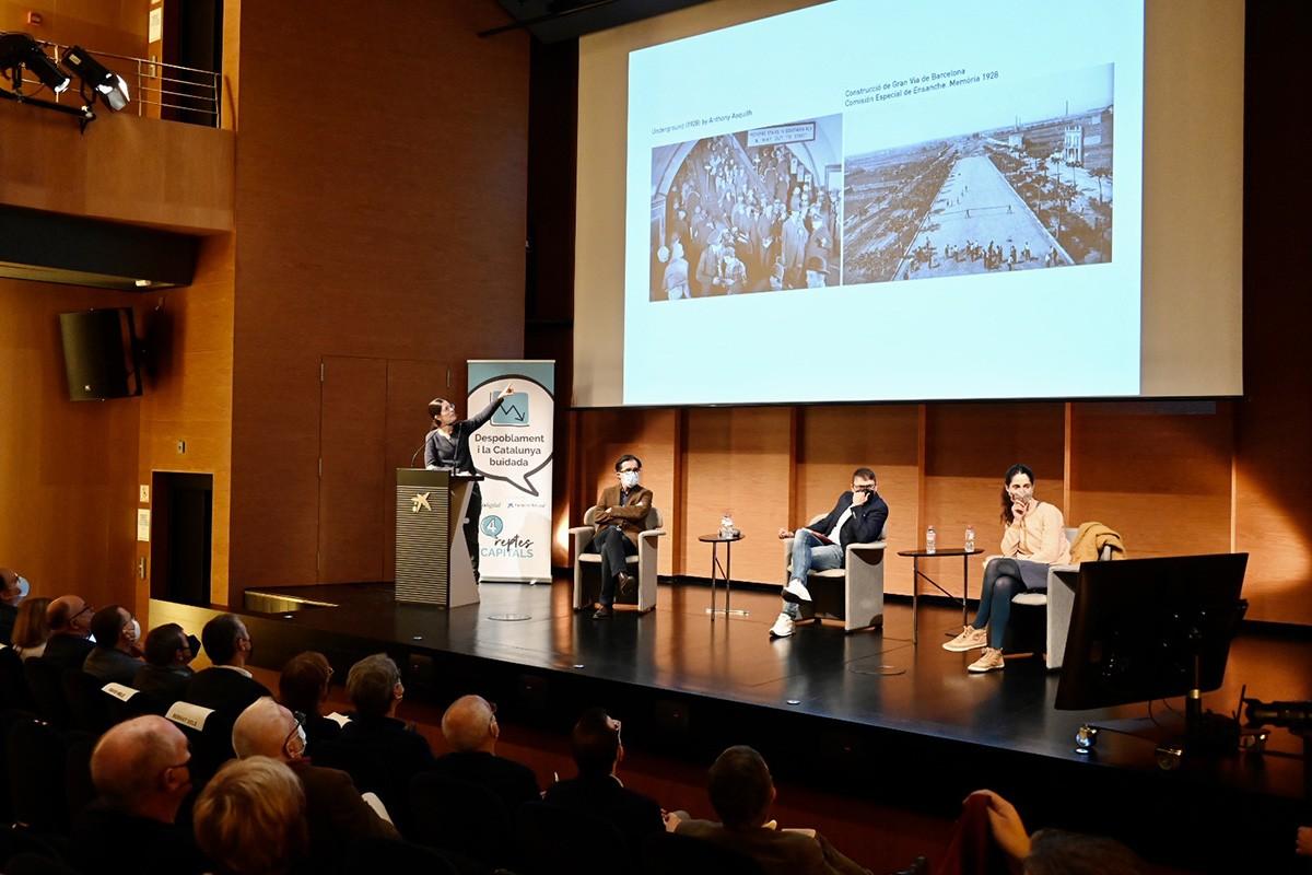 Conferència de Maria Sisternas, arquitecta i CEO de Mediaurban