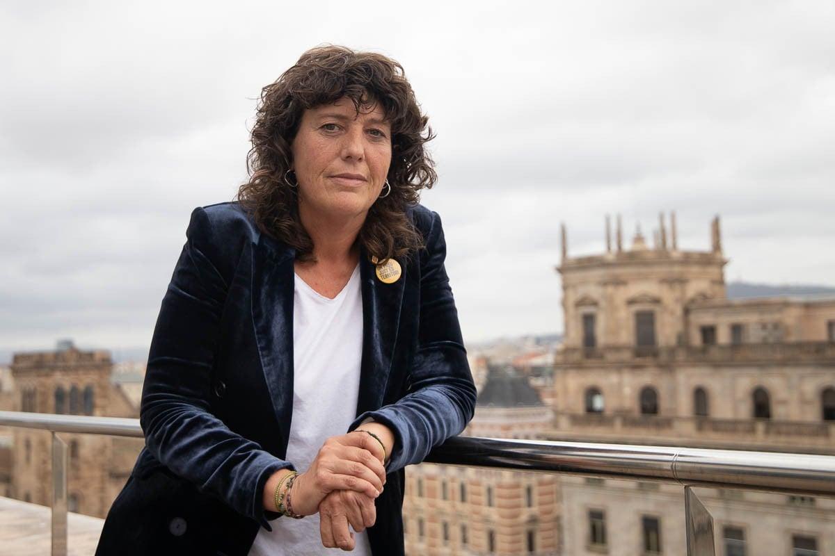 Teresa Jordà, consellera d'Acció Climàtica, a la seu del departament.