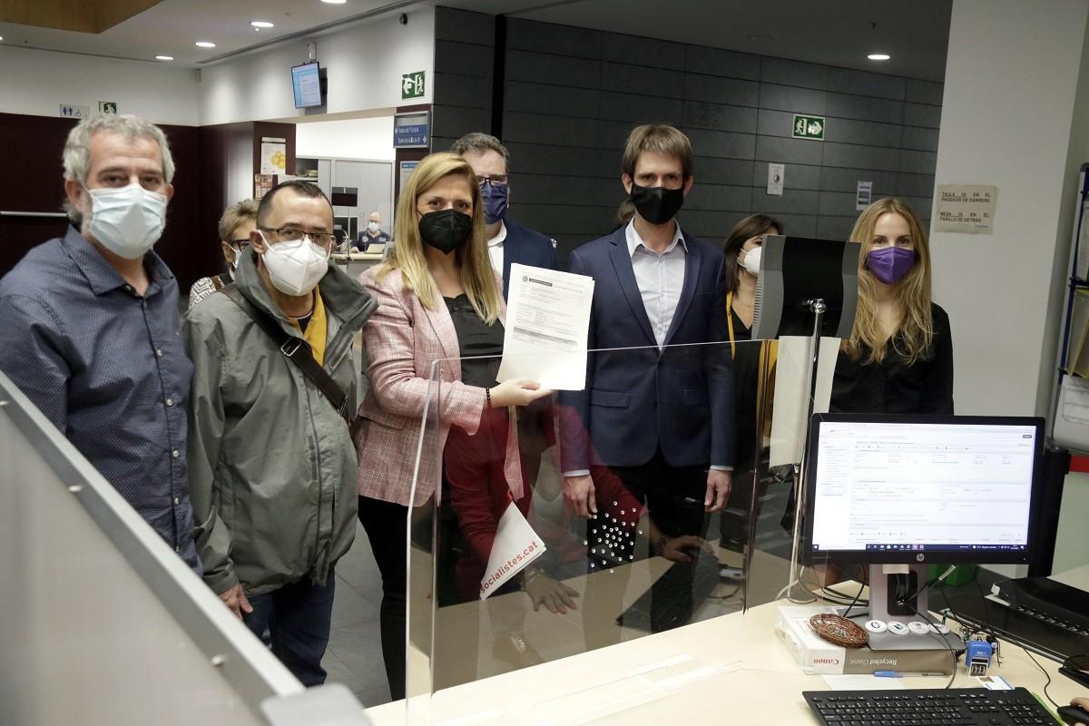 L'oposició registra la moció de censura a Badalona.