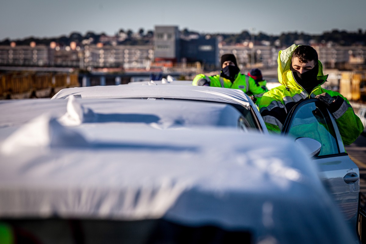 Tràfic de vehicles al Port Tarragona