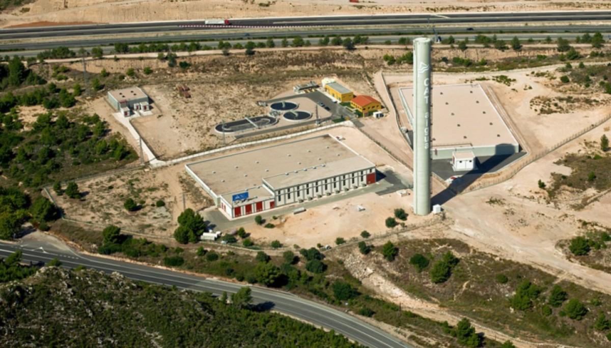Planta del Consorci d'Aigües de Tarragona