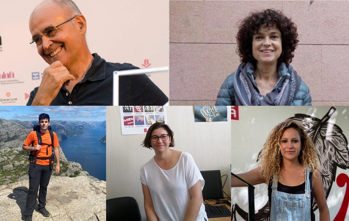 Isidor Marí, Joana Mollà, Biel Pallarès, Josepa Costa i Aina Vidal expliquen a NacióDigital la seva tasca en defensa de la llengua