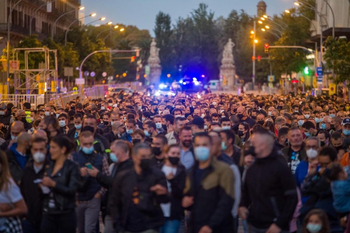 Imatge de la manifestació.