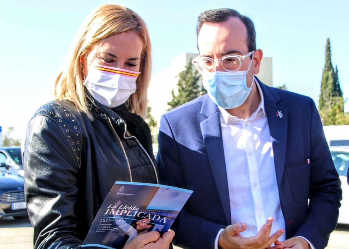 Xavi Palau amb Marisa Xandri