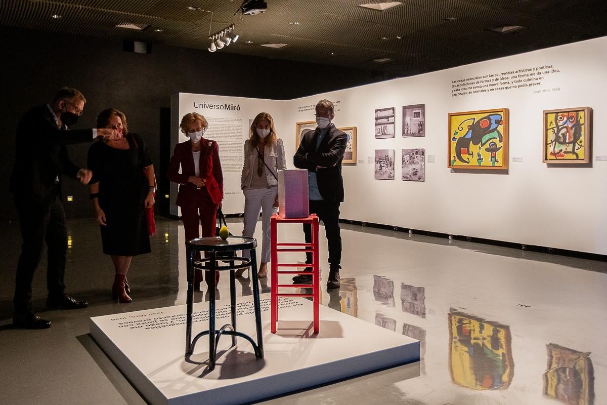 L'exposició «Univers Miró», a Mèxic