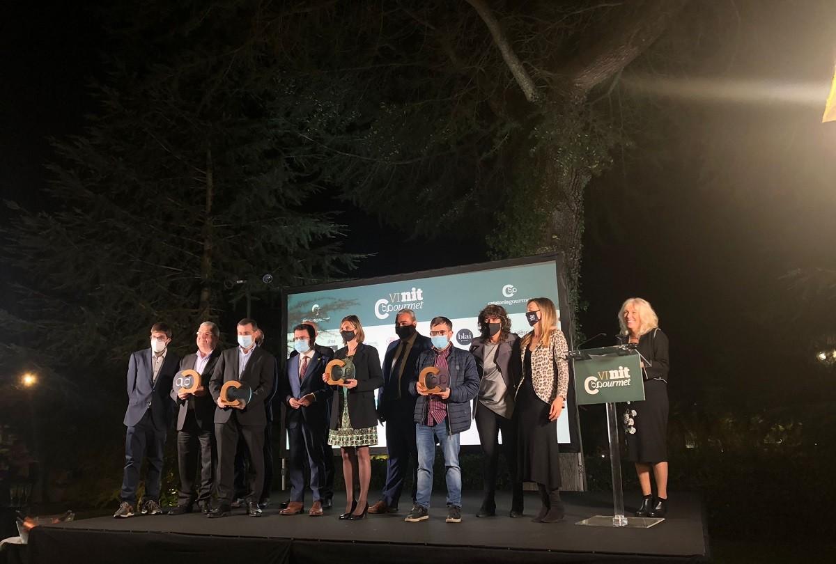 Entrega del premi Gourmet Català