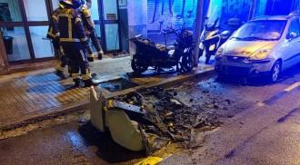 Enxampat un piròman que havia causat set incendis en una nit a Barcelona