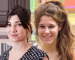 Sara Blázquez i Carla Dinarès