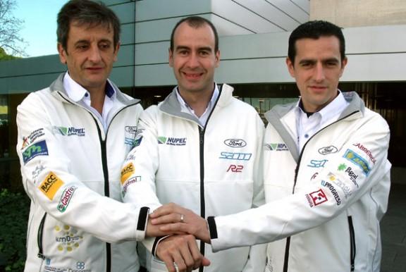 Luis Moya, a l'esquerra, en una recent imatge