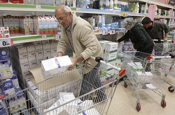 Un supermercat de Carrefour