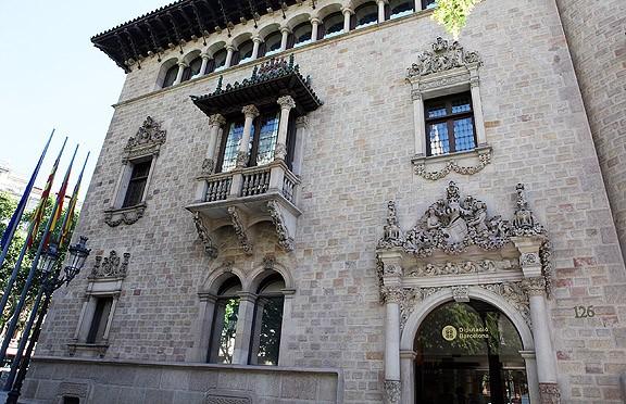 Edifici de la Diputació de Barcelona.