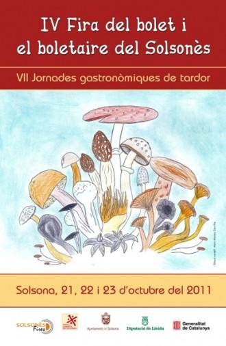 342 nens i nenes participen en el Concurs de dibuixos per a la IV Fira del Bolet i el Boletaire del Solsonès