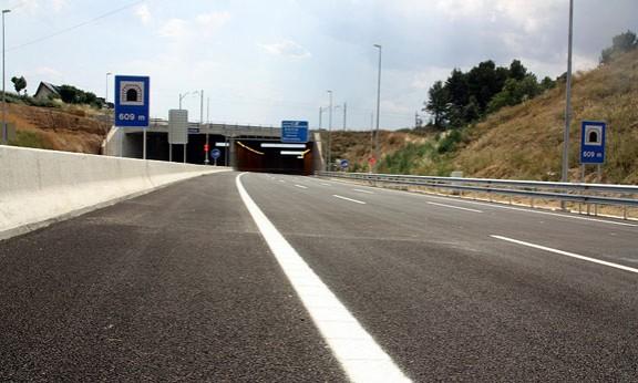 Tram del Quart Cinturó entre Terrassa i Viladecavalls, al Vallès Occidental.