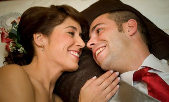 Una parella a punt de casar-se