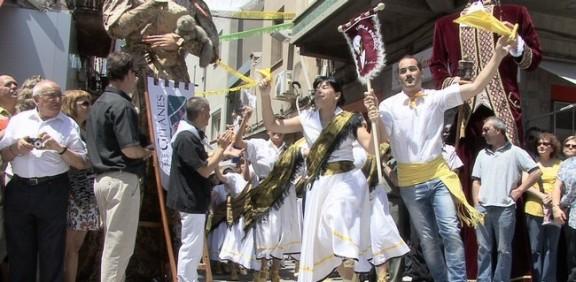 Més de 200 balladors al Ball de Gitanes de Sant Vicenç de Castellet