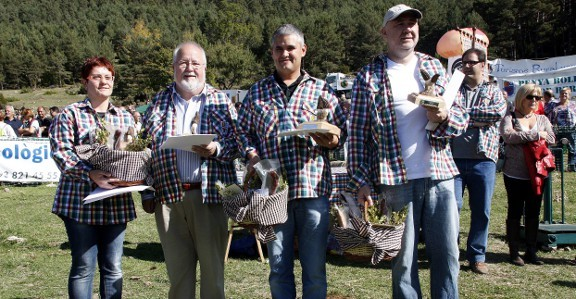 Recullen 94 quilos de bolets al concurs de Boletaires de Berga
