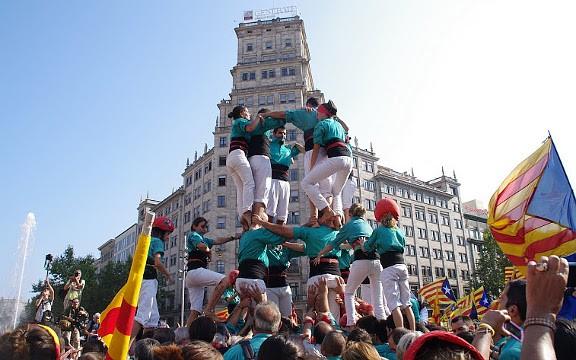 Un milió i mig de manifestants... però cap sardanista?