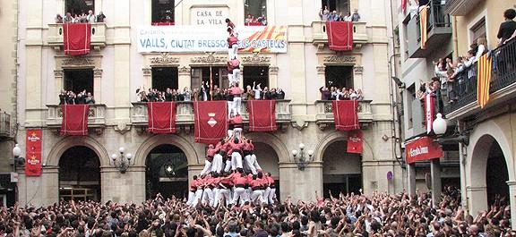 Valls, la capital castellera