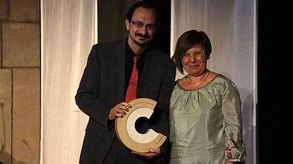 Jaume Ayats rep el Premi Nacional de Cultura Popular 2012