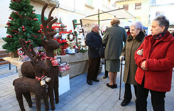 La Fira de Santa Llúcia marca l'inici del Nadal a Taradell