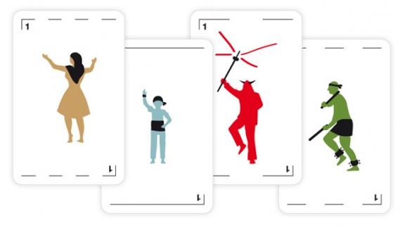 La cultura popular protagonitza una innovadora baralla de cartes