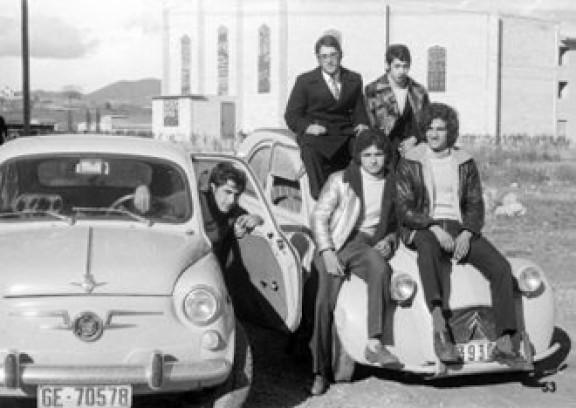 El Manlleu dels anys 60 i 70, amb el popular 600