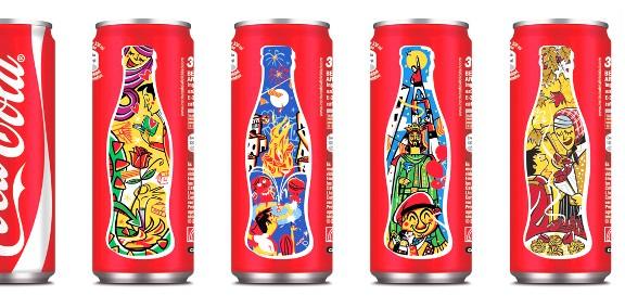 Sant Joan, Sant Jordi, gegants i castells capten l'interès de Coca-Cola