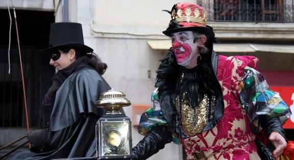 Tortell Poltrona protagonitza el Carnaval de Barcelona