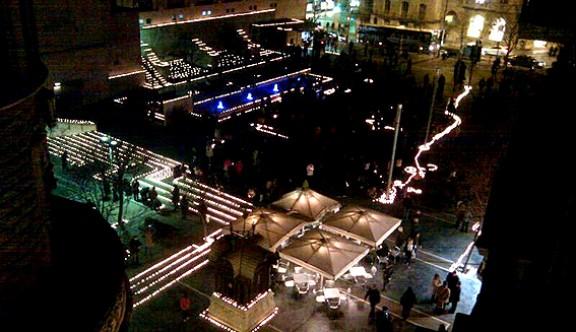 L'Encesa de la Nova Llum il·lumina el centre manresà