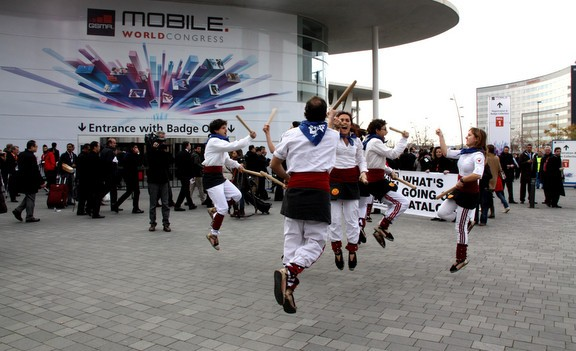 Bastoners per explicar la cultura catalana al Mobile World Congress