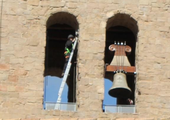 Les campanes de la Catedral de Solsona passen la ITV